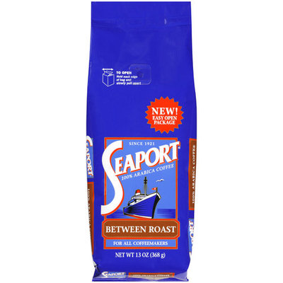 Seaport 100% Arabica Between Roast Coffee, 13 oz