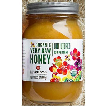 Madhava Honey Madhava - Organic Very Raw Honey - 22 oz.