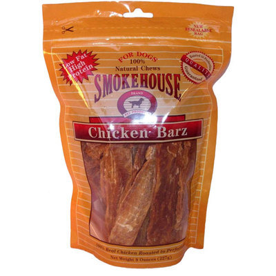 Smokehouse Pet Products 8 Oz Chicken Barz 26014