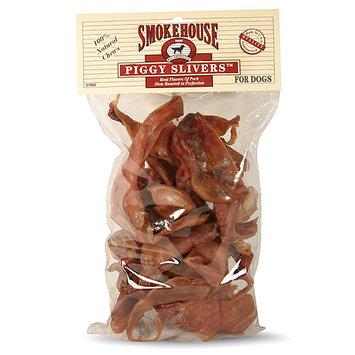 Smokehouse Dog Treat Usa Made Piggy Slivers 24pk