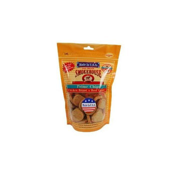 Smokehouse Pet Products - Prime Chips Dog Treats Chicken Breast & Beef.