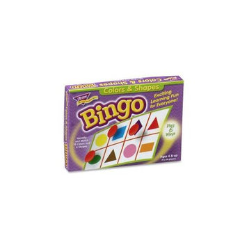 Trend Enterprises Educational Games Colors And Shapes Bingo, for Ages
