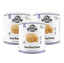 Augason Farms' Food Storage Cheese Blend Powder 3-Pack