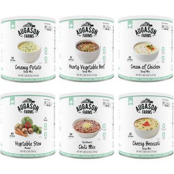 Augason Farms Food Storage Soup Variety 6-Pack