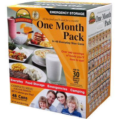 Cabela's Augason Farms 1-Month Emergency Food Pack
