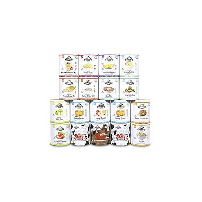 Augason Farms GIG Certified Gluten Free Complete Meal Pack