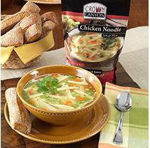 Crown Canyon Chicken Noodle Soup Mix Pouch (Pack of 6)