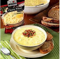 Crown Canyon Cheesy Potato Soup Mix Pouch (Pack of 6)