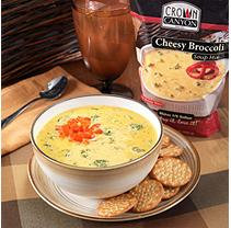 Crown Canyon Cheesy Broccoli Soup Mix Pouch