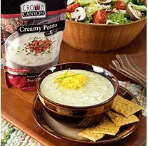 Crown Canyon Creamy Potato Soup Mix Pouch (Pack of 6)