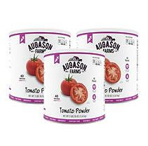 Augason Farms Emergency Food Dehydrated Tomato Powder, 58 oz