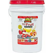 Augason Farms Emergency Food Freeze Dried Fruit Variety Pack, 73.6 oz