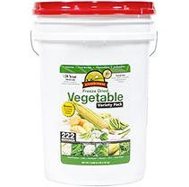 Augason Farms Emergency Food Freeze Dried Vegetable Variety Pack, 70.4 oz