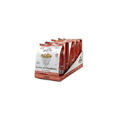 Blue Chip Group Augason Farms Pantry Pack Instant Maple Brown Sugar Oatmeal with Strawberries (Pack of 6)
