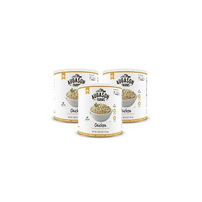 Augason Farms Chicken-Flavored Vegetarian Meat Substitute (#10 can, 3 pk.)