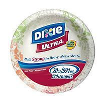 Dixie Ultra Paper Bowls - 20 oz. - 120 Bowls