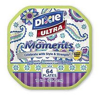 Dixie Ultra Moments Paper Plates (10