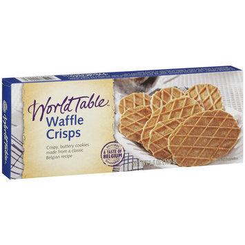 World Table Waffle Crisps Cookies, 3.5 oz