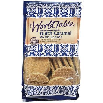 World Table Caramel Wafers Waffle Cookies, 7 oz
