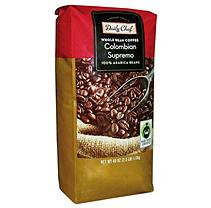 Daily Chef Coffee Colombia Supremo Fair Trade Certified Whole Bean - 40 oz.
