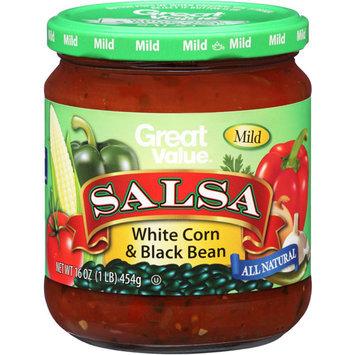 Great Value Mild White Corn & Black Bean Salsa, 16 oz