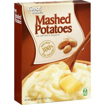 Great Value Mashed Potatoes, 26.7 oz