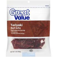 Great Value Teriyaki Beef Jerky, 3 oz