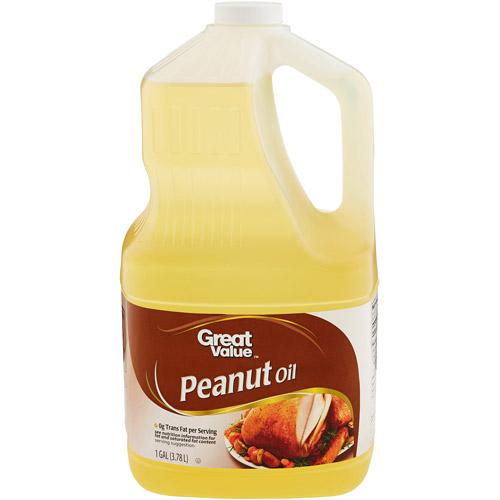 Great Value Pure Peanut Oil