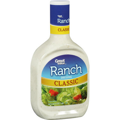 Great Value Classic Ranch Dressing, 36 fl oz