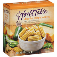 World Table Cheddar Jalapeno Bites, 4 oz