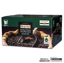 Daily Chef Medium Roast Decaffeinated Coffee Single Serve Cups - 54 ct. - K-Cups & Single Serve Coffee