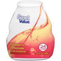 Great Value Raspberry Lemonade Drink Enhancer, 1.62 fl oz