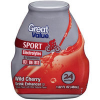 Great Value Sport Wild Cherry Drink Enhancer, 1.62 fl oz