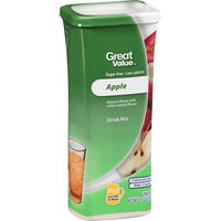 Great Value Apple Drink Mix, 6 count, 2.5 oz