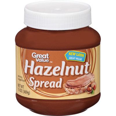 Great Value Hazelnut Spread, 13 oz