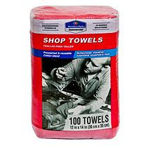 Member's Mark Commercial Shop Towels - Red - 100 ct.