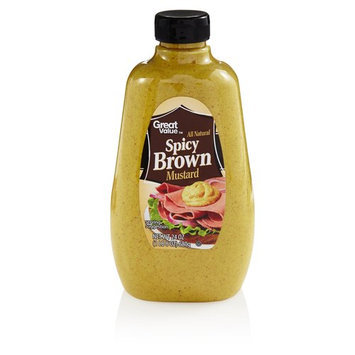Great Value Spicy Brown Mustard, 24 oz