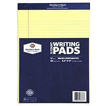 Member's Mark - Perforated Writing Pad, 8.5