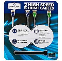 Member's Mark HDMI Cable 2 Pack