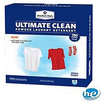 Member's Mark - Ultimate Clean Powder Laundry Detergent - 234 oz. - 180 Loads