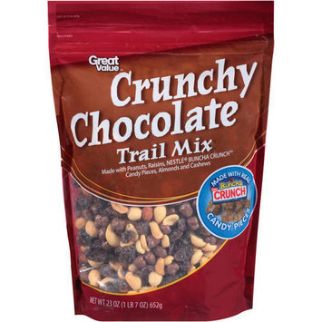 Great Value Crunchy Chocolate Trail Mix, 23 oz