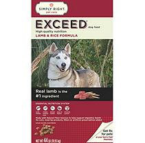 Simply Right Exceed Lamb and Rice Formula Dog Food (44 lbs.)