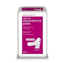 Simply Right Ultimate Absorbency Pads, Long (108 ct.)