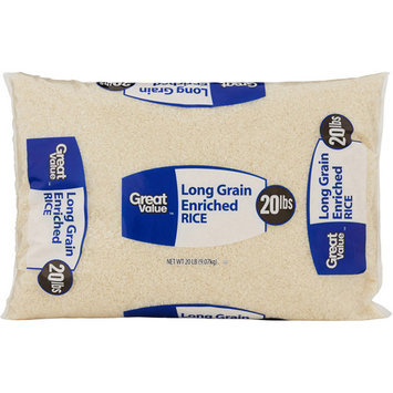 Great Value: Long Grain Enriched Rice, 80 Oz