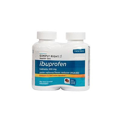 Simply Right Ibuprofen Tablets (600 ct, 2 pk.)