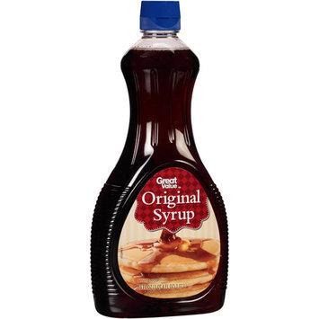 Great Value Original Syrup, 36 fl oz