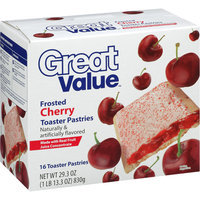 Great Value Frosted Cherry Toaster Pastries