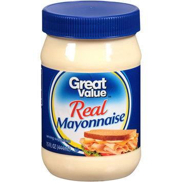 Great Value Real Mayonnaise, 15 fl oz