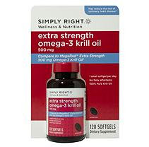Simply Right Extra Strength Omega-3 Krill Oil (120 ct.)