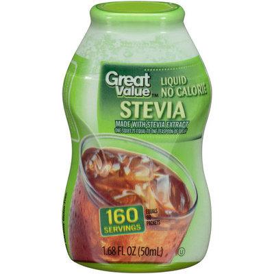 Great Value Liquid No Calorie Stevia, 1.68 fl oz